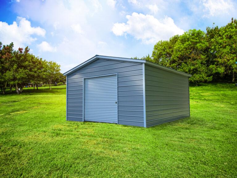 Garage used for storage