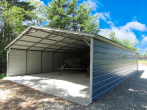 Carport cover great for boats and vehicles