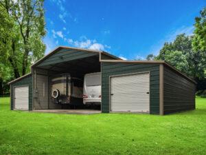 Metal Barn for RVs and yard supplies